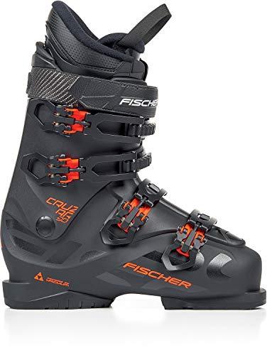 Fischer Cruzar 90 PBV Ski Boots Mens Sz 12.5 (30.5) Black/Black
