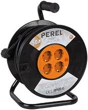 3/G longueur 10/m Perel ECR10/G Enrouleur de c/âble 4/prises
