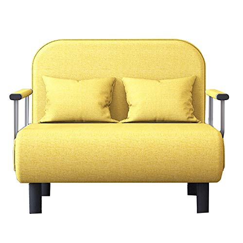 SqSYqz Sofá Cama, sofá Cama, tamaño Doble, sofá Cama Plegable, sillón Cama portátil con reposabrazos Desmontable, Cama para Dormir para Muebles de Oficina en casa,100CM