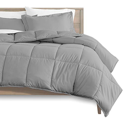 Bare Home Comforter Set - Queen Size - Goose Down Alternative - Ultra-Soft - Premium 1800 Series -...
