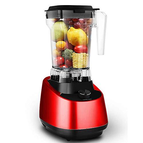 ALK Standmixer Smoothie Maker, 2000W Smoothie Blender, Standmixer Hochleistung, 35,000 U/min, 2.0L Tritan-Behälter ohne BPA, High Performance Mixer, Rot