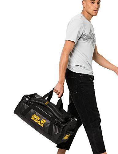 Jack Wolfskin Unisex– Erwachsene Expedition Trunk 40 Freizeittasche, Black, One Size