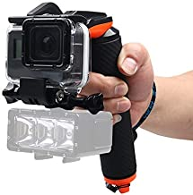 Liuzheng For Waterproof camera Shutter Trigger Floating Hand Grip Diving Buoyancy Stick with Adjustable Anti-lost Strap Screw Wrench for GoPro NEW HERO  HERO6 Black