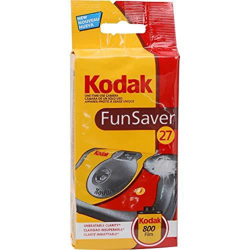 Kodak FunSaver 8617763 Cámara de un solo uso, 27 fotos