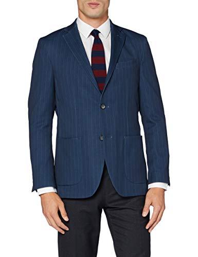Pierre Cardin Herren Manel FF Blazer, Blau (Pool Blue 3250), (Herstellergröße: 52)