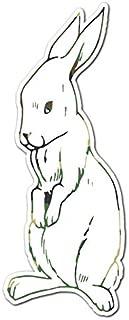 Bunny Rabbit Outline - Vinyl Decal Sticker - 6.5