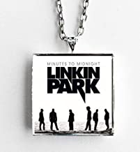 Album Cover Art Pendant Necklace Linkin Park Minutes to Midnight