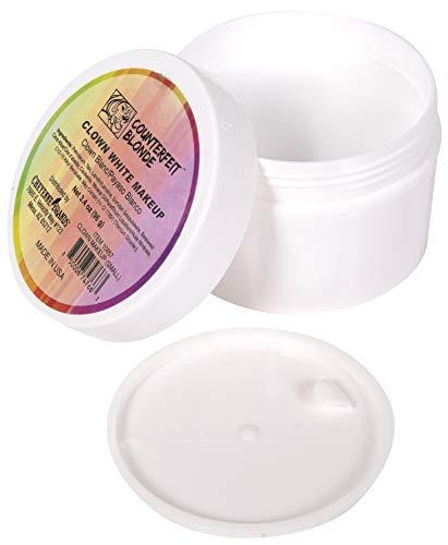 Counterfeit Blonde Clown White Makeup (Small 3.4 Ounces)