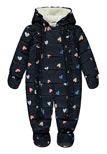 TOM TAILOR Kids Baby Overall Sweat-Shirt, Multicolore (Allover Multicolored 0003), 86 Bébé Fille