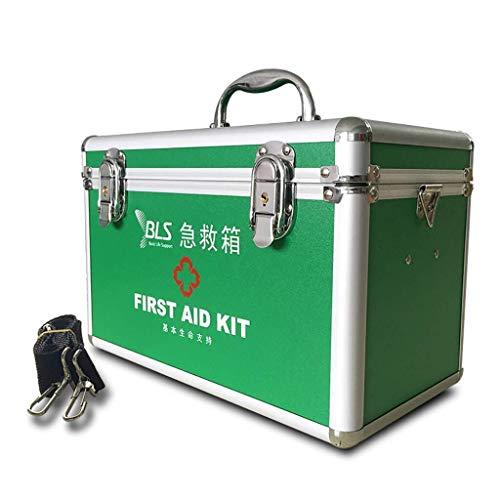 Sscatola per Medicinali Medicina Box Kit di primo soccorso medico Deposito Kit serratura ideale for l'ufficio campeggio auto il viaggio...