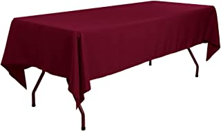 Best burgundy tablecloth wedding Reviews
