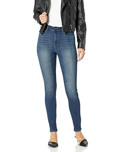 William Rast Women's Sculpted High Rise Skinny Jean, Rustic New Waves/Fading, 32