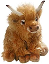 Carl Dick Cow, Highland Cow, 11 inches, 28cm, Plush Toy, Soft Toy, Stuffed Animal 2794