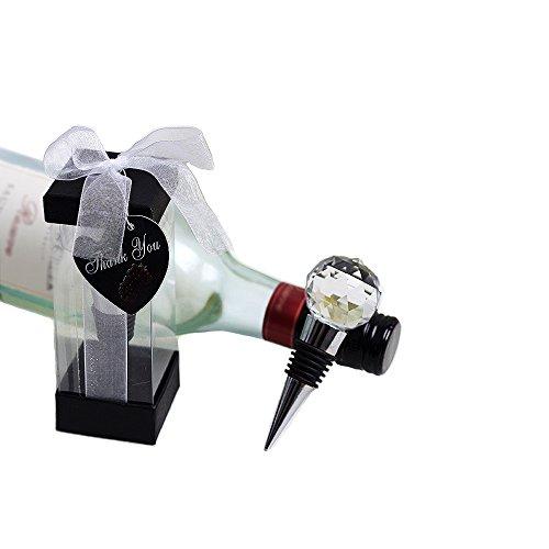 Paquete 5 Tapón de botella de acero inoxidable+cristal para la colección de...