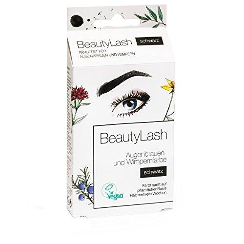 Beauty Lash Färbeset Sensitive, schwarz, 7 ml