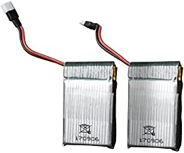 UFO 3000 and UFO 4000 Drone Batteries - 2 Pack 3.7v 500mAh LiPo Drone Battery for Force1 UFO 3000 and UFO 4000 Quadcopter Drones
