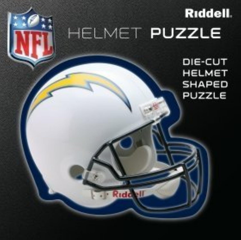 Obtén lo ultimo San San San Diego súper Chargers Team Helmet Puzzle by Riddell  suministramos lo mejor