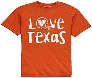 Future Tailgater Texas Loves Football Baby/Toddler Tshirt