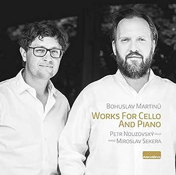 Martinů: Works for Cello & Piano