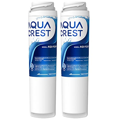 AQUACREST FQSVF Replacement Under Sink Water Filter, NSF 42 Certified,...