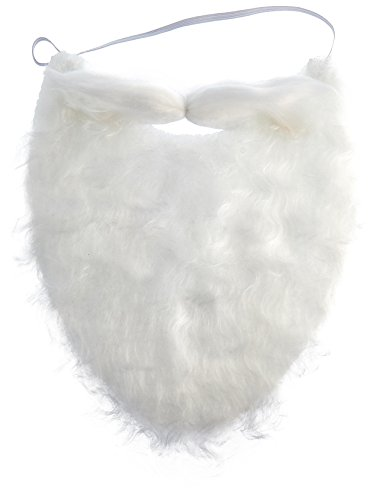 Jacobson Hat Company mens Beard, White, One Size