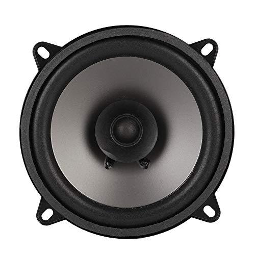 Altavoces coaxiales para coche, universal 5-inch Coaxial 400W Altavoz de sonido de 12 V, 10cm, negro