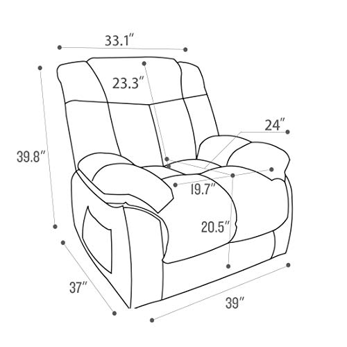 CANMOV Power Lift Recliner Chair...