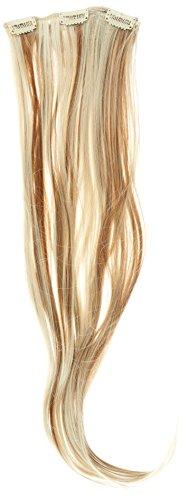 Biya Hair Elements Thermatt Extensions de cheveux lisses à clipser Couleur n°18P613 Brun/blond 61 cm 140 g