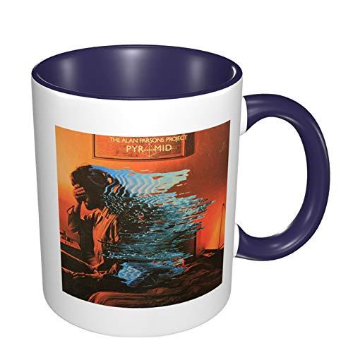 Funny Coffee Mug Tea Cup For Men Women The Alan Parsons Project (2) Gift For Men Women Boy Girl, White Fine-Bone Ceramic 11 Oz