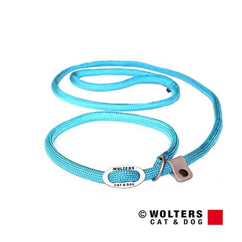 Wolters | Moxonleine K2 neon aqua | L 180 x B 0,9 cm