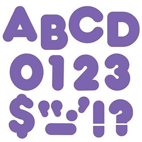 "TREND enterprises, Inc. Purple 2"" Casual Uppercase Ready Letters"