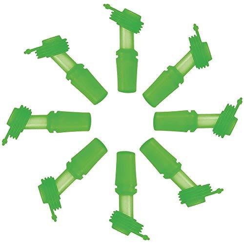 SINONIA Kids Bite Valves Fit All CamelBak Eddy Kids Water Bottle (8Pack - Green)