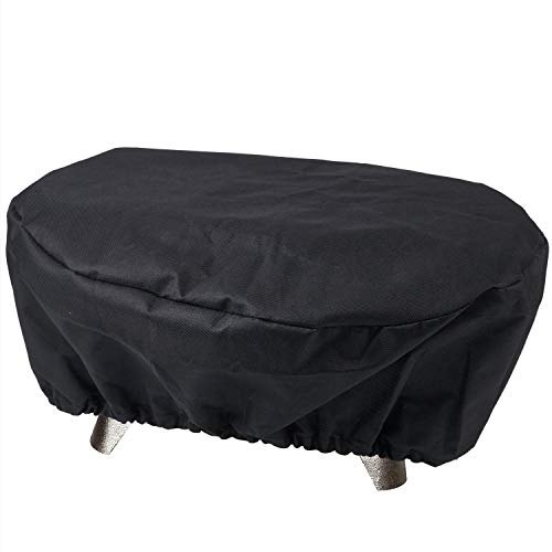 SHINESTAR Grill Cover for Lodge Cast Iron Sportsman's Grill, Small Grill Cover for Coleman Party Propane Grill, 19 × 10 × 8 Inch