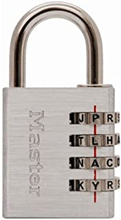 Master Lock 643DWD Set Your Own Word Combination Lock 1-9/16 in. Wide