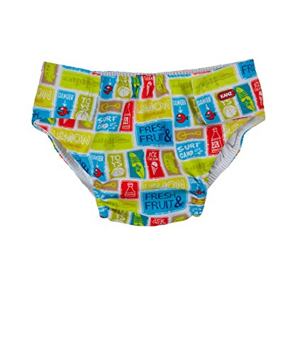 Kanz Baby-Jungen Schwimmwindel, Mehrfarbig (Allover Multicolored 0003), (Herstellergröße: 68)