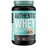 Authentic Whey Muscle Building Whey Protein Powder - Low Carb, Non-GMO, No Fillers, Mixes Perfectly - Fruity Cereal Splash Flavor