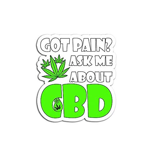 I Sell Cbd Hemp Heals Oil - Sticker Graphic - Auto, Wall, Laptop, Cell, Truck Sticker for Windows, Cars, Trucks