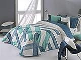 Reig Marti - Colcha Bouti Aren 2P Cama 150 - Color Azul C03