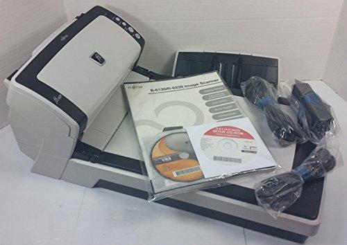 Fujitsu fi-6230 Flatbed und ADF A4-Scanner (215,9 x 355,6 mm, 24 bit, Flatbed und ADF Scanner, CCD (Ladeübertragungsgerät), Twain, 50 Blatt