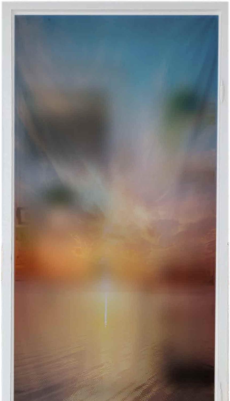 Decorative Glass Sticker Privacy Window Films Magical Sunrise Max Very popular 57% OFF Ho