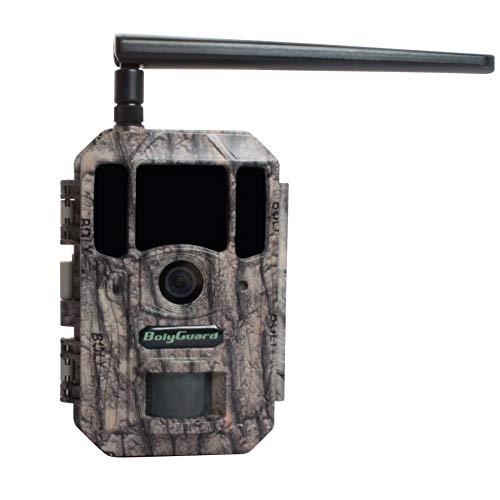 BolyGuard 4G Cloud Drive Wildkamera 36MP 4K Trail Game Kamera Bewegungsaktivierte Infrarot Nachtsicht mit GPS Tracker 2 Zoll LCD Display IP66 Wasserdicht für Outdoor und Home Security