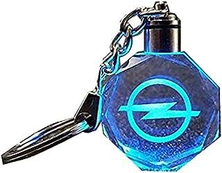 سلسلة مفاتيح بشعار سيارة اوبيل بإضاءة الوان مختلفة