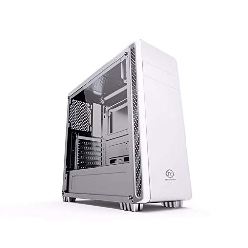 Cajas de Ordenador de sobremesa Soporte ATX/Micro-ATX/Mini-ITX Funda Transparente De Vidrio Templado, Material SPCC 3.5'HDD * 2/2.5' SSD * 2 Funda De Escritorio, Puede Instalar 1 Unidad Óptica