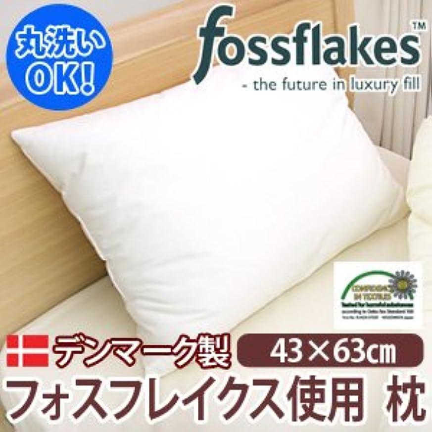 手荷物訪問アメリカFossflakes(フォスフレイクス)(TM)ウォッシャブルピロー(43×63cm)