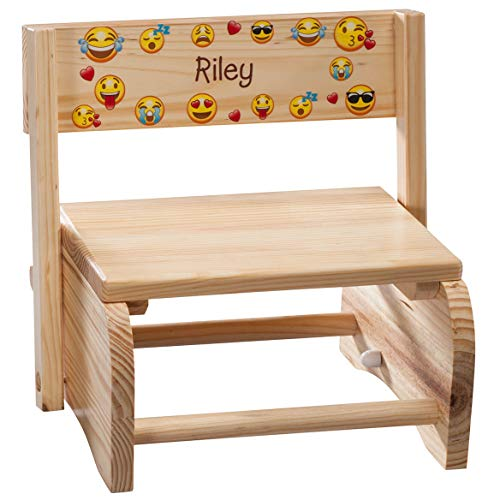 Personalized 2-in-1 Children's Step Stool