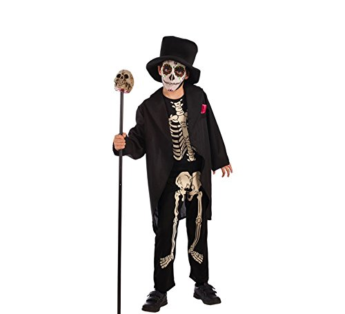 Disfraz de Esqueleto Elegante para Nio y beb