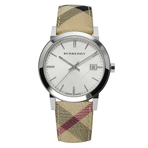 Burberry BU9025–Orologio per Donna, Cinturino in pelle