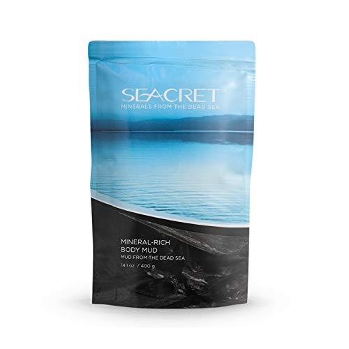 SEACRET Minerals From The Dead Sea, Mineral Rich Body Mud 14.1.OZ.