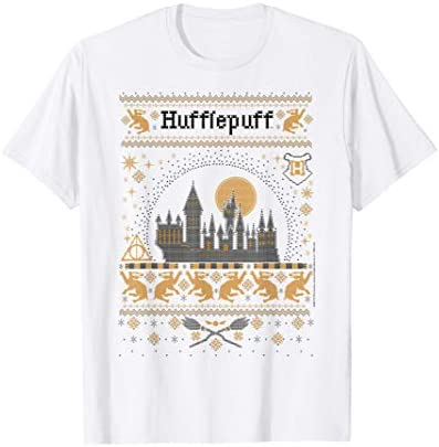 Harry Potter Christmas Hufflepuff Ugly Sweater T Shirt product image
