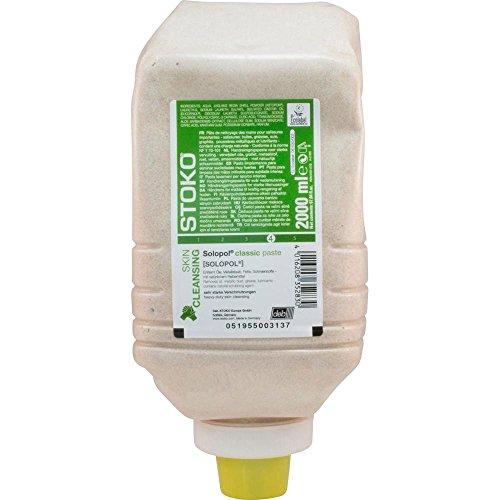 Stoko 33282 Solopol natural Hautreinigung, 2000 mL Softflasche